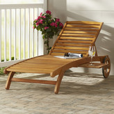 Bay Isle Home Dracaena Balau Wood Patio Chaise Lounge