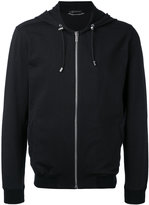 Versace Medusa back detail hoodie - men - Cotton/Spandex/Elastane - S