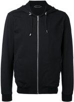 Versace Medusa back detail hoodie - men - Cotton/Spandex/Elastane - XS