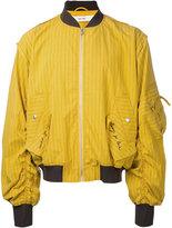 Damir Doma striped bomber jacket - men - Cotton/Polyamide - M