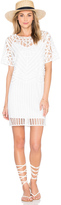 Suncoo Corma Crochet Dress