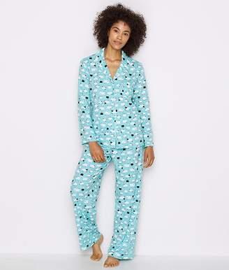 Karen Neuburger Girlfriend Knit Sheep Pajama Set