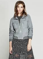GUESS Bridgette Suede Jacket