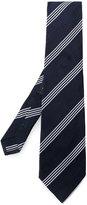 Etro diagonal stripes tie