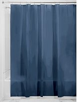 InterDesign Mildew-Free PEVA 3 Gauge Shower Liner, Stall 54 x 78, Navy