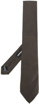 DSQUARED2 woven dot tie