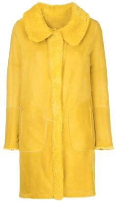 Sylvie Schimmel Reversible Single-Breasted Coat