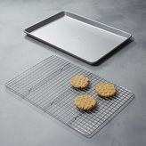 Crate & Barrel USA Pan Half Baking Sheet with Cooling Rack