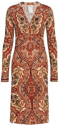 Etro Elba Jersey Paisley Dress