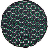 Alexander Olch Men's Dotted Cotton Lace Pocket Round-NAVY, GREEN