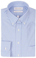 Roundtree & Yorke Gold Label Non-Iron Slim-Fit Button-Down Collar Gingham Dress Shirt