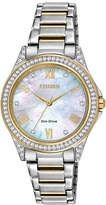 Swarovski DRIVE FROM CITIZEN ECO-DRIVE Drive from Citizen Eco-Drive Womens Crystal-Accent Watch