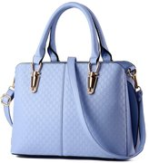 LucyZ Women Top Handle Satchel Handbags Tote Purse