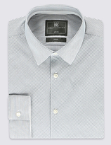 Limited Edition Cotton Blend Slim Fit Long Sleeve Shirt