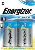 Energizer Advanced D Batteries 2-Pack