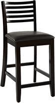Linon Triena Ladder Barstool with Back