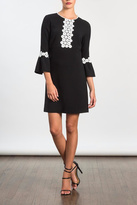 Shoshanna Bell Sleeve Dress