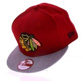 New Era Chicago Blackhawks Team Snap Snapback Cap Kappe 9fifty Basecap Mens