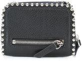 Alexander Wang ball chain trim wallet - women - Calf Leather/metal - One Size