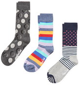 Happy Socks Dots and Stripes Socks (3 PK)