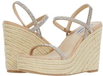 Steve Madden Skylight-R Wedge Sandal (Rhinestone) Women's Shoes