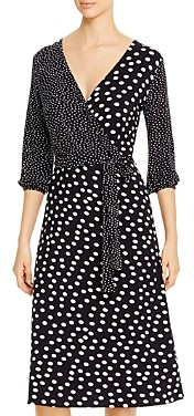 T Tahari Faux-Wrap Dress