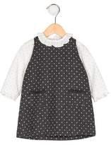 Baby CZ Girls' Polka Dot Dress Set