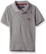 U.S. Polo Assn. Short Sleeve Solid Pique Polo Shirt