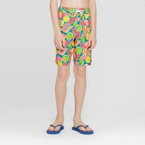 5f16b51bfc Boy Short Bathing Suit Bottoms - ShopStyle