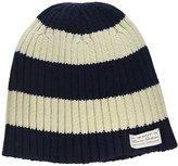 Gant Girl's O. Barstripe Beanie Hat,(Manufacturer Size:6-9Y)