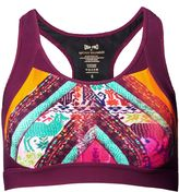 Matthew Williamson Aztec Print Scoop Neck Sports Bra