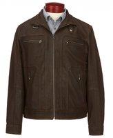Roundtree & Yorke Matte Lambskin Moto Jacket