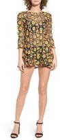 For Love & Lemons Women's Amelia Sheer Minidress