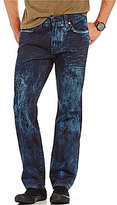 True Religion Geno Slim-Fitting Straight-Leg In Cloud Cover Jeans