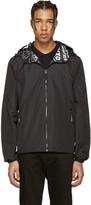 Kenzo Reversible Black Hooded Jacket
