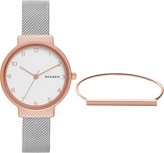 Skagen SKW1080 Ancher stainless steel watch and bracelet
