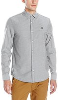 Original Penguin Men's Oxford Long Sleeve Button Down Shirt