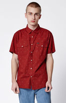 Brixton Wayne Short Sleeve Button Up Shirt