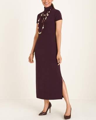 Travelers Classic Mock-Neck Dress