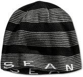 Sean John SJ Stripe Beanie, Big Boys (8-20)