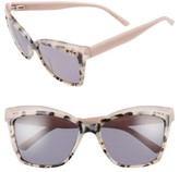 Ted Baker Women's 56Mm Cat Eye Sunglasses - Ivory