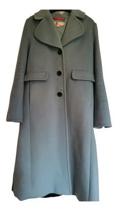 Boden Blue Wool Coats