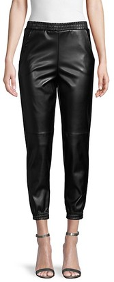 Love...Ady Pleather Joggers