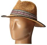 Echo Crocheted Straw Hat