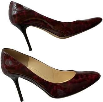 Jimmy Choo Purple Patent leather Heels