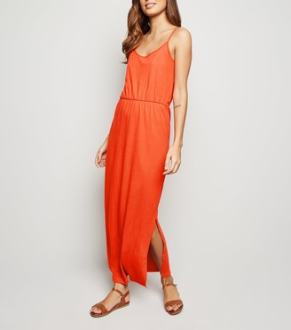 New Look JDY Bright Side Split Maxi Dress