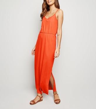 New Look JDY Bright Side Split Maxi Dress