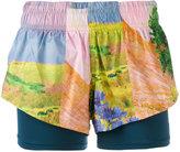 adidas by Stella McCartney floral print shorts