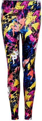Koral Activewear X KAPPA Lustrous Infinity printed leggings