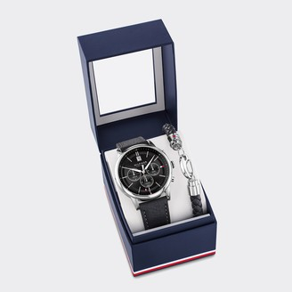 Tommy Hilfiger Sub-Dials Watch and Bracelet Gift Set
